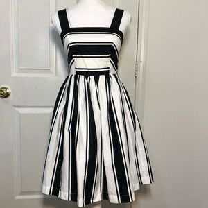 Milly for Designation 60's inspired Striped Dress